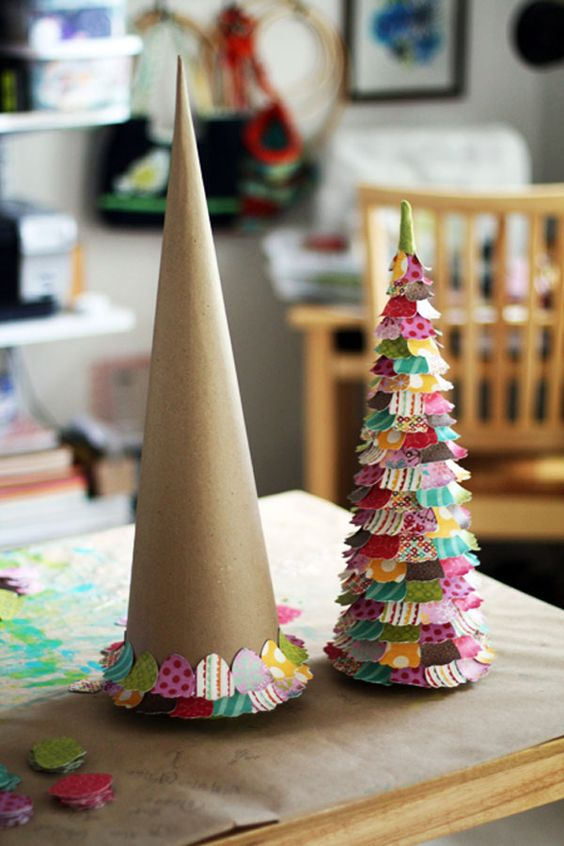 Time to dig out the glue gun - this Christmas tree is FABULOUS!