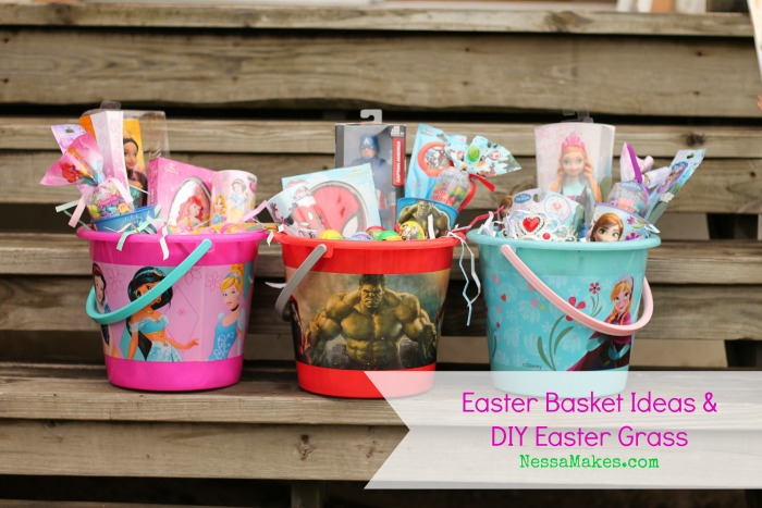 These Disney Easter Baskets have ideas for kids of all ages!