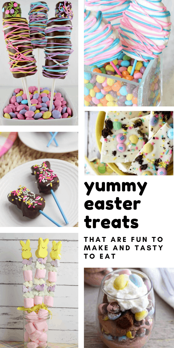 Yum! These Easter treat recipes look so bright and colorful they scream SPRING! They're easy enough for kids to make and tasty to eat too!