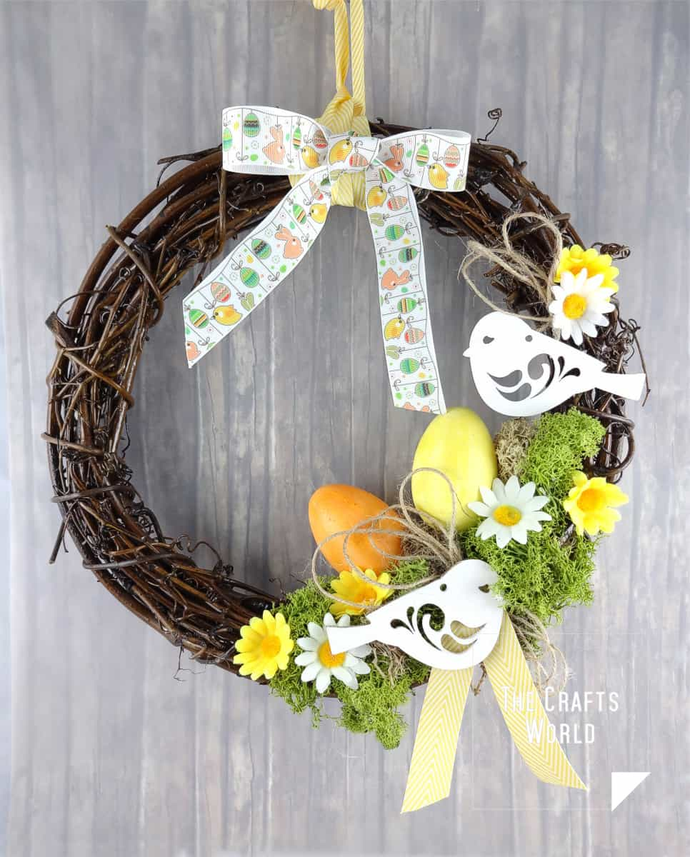 Easter Themed Wreath Tutorial