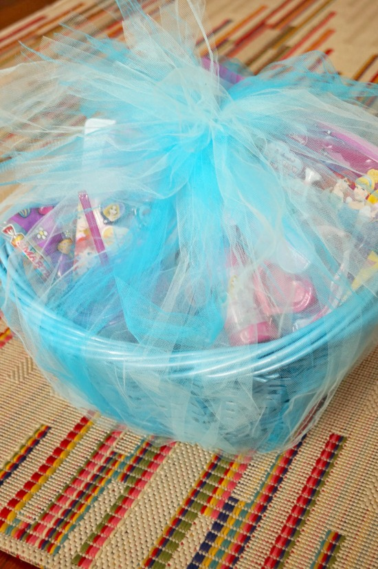 What a great way to wrap up an Easter basket - in a tutu!