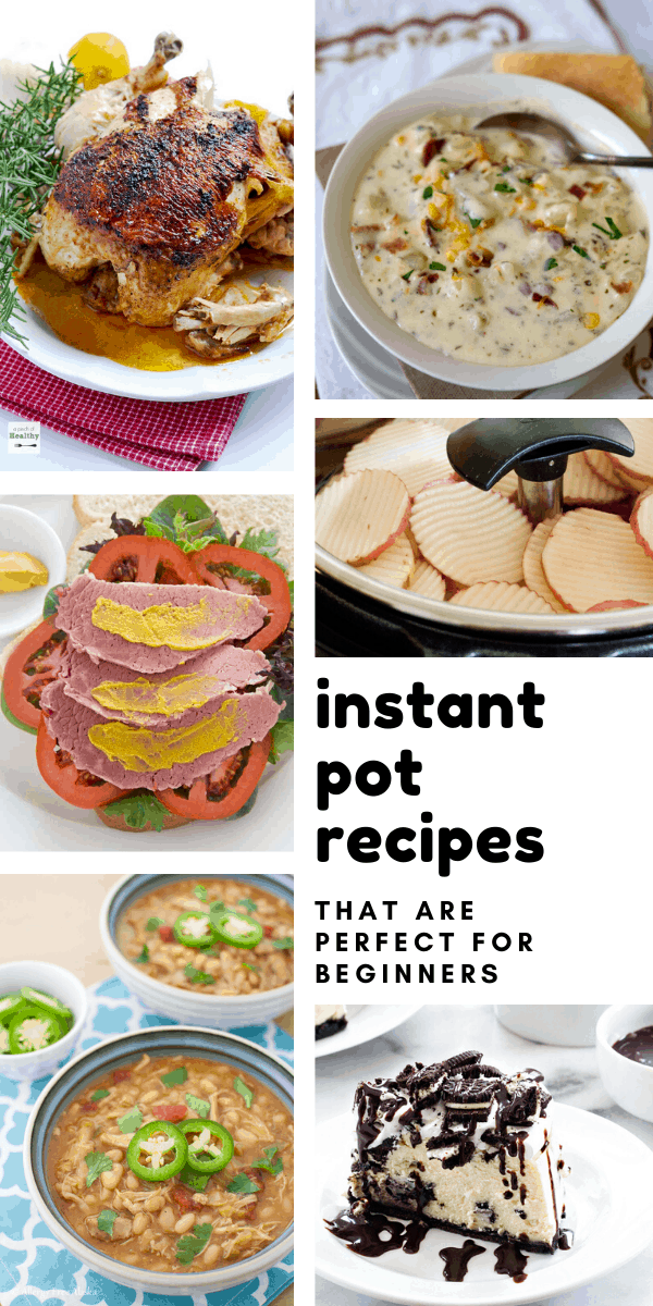 Easy Instant Pot Recipes {Perfect for newbies!}