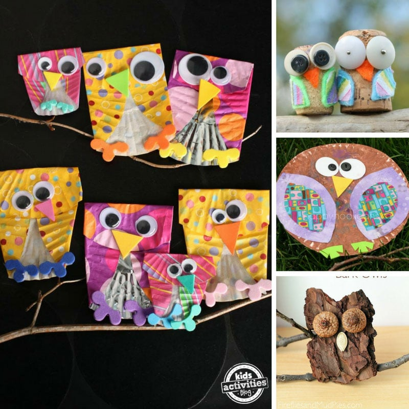 10 Absolutely Wonderful Owl Crafts for Preschoolers to Make at Home