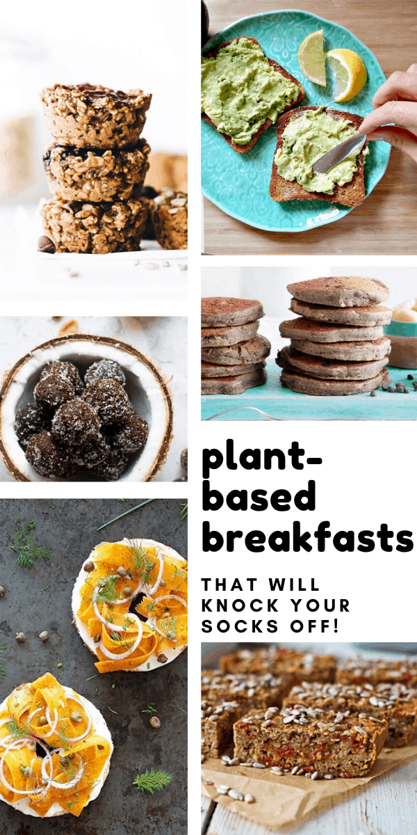 These easy plant based breakfast recipes are vegan, dairy free and a great way to get the day off to a healthy start
