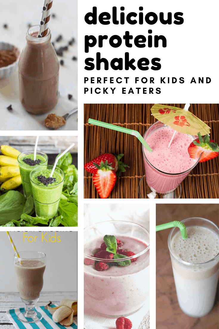 These easy protein shake recipes are perfect for kids and picky eaters!