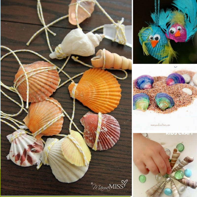 13 Easy Seashell Crafts for Kids to Preserve Those Summer Memories Forever!