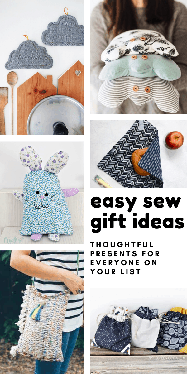 Loving these easy sew gift ideas - just the inspiration I needed for the person on my list who has everything already!
