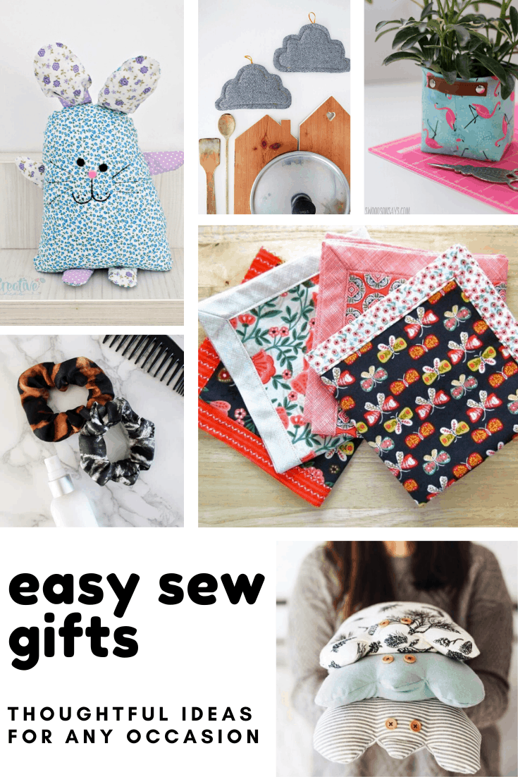 Loving these easy sew gifts! These handmade presents are perfect for any occasions including Christmas!