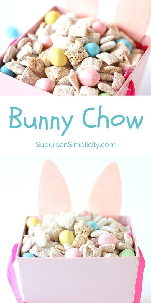 Easter Treats | Desserts | Bunny Chow