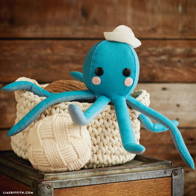 Felt Octopus Stuffie