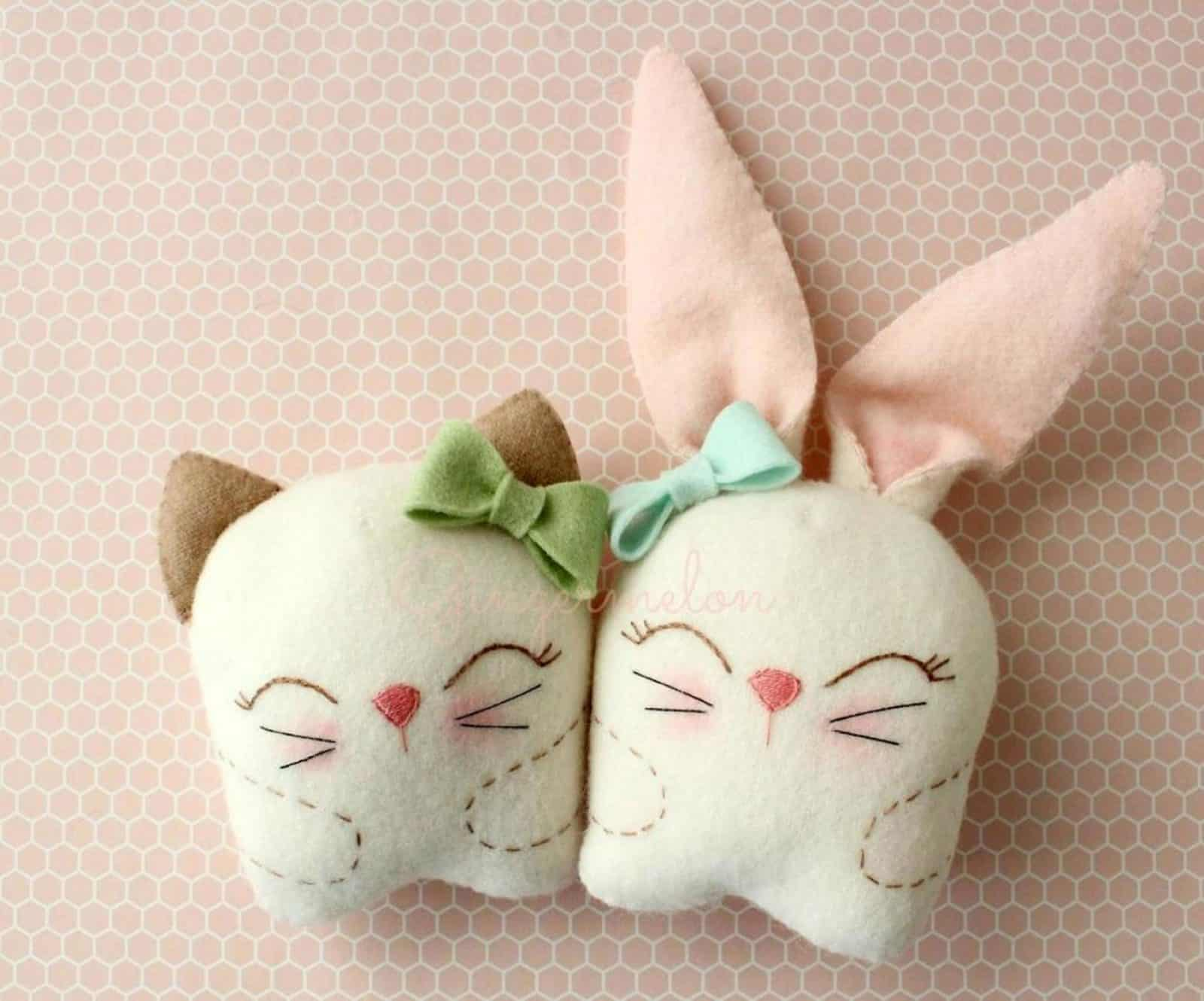 Free - Snuggle Bunny and Kitty