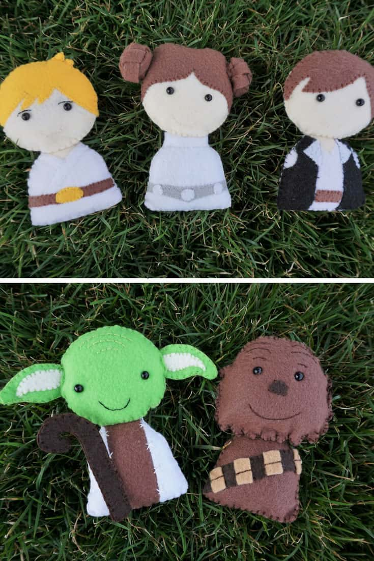 Felt Star Wars Stuffies