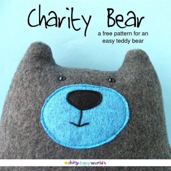 Charity Bear - Free Pattern