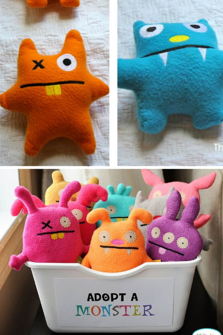 DIY Monster Stuffies