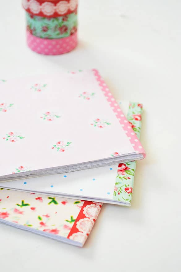 DIY Floral Notepads