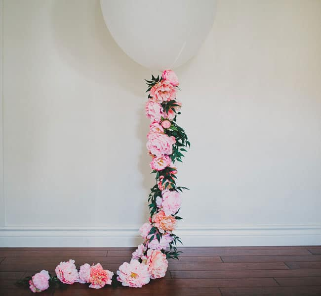 DIY Floral Balloon with Afloral
