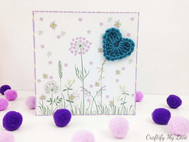 Floral Mixed-Media Mother's Day Card