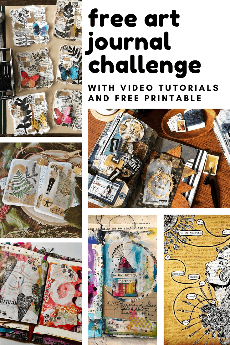 This year bring some creativity to your day by taking part in our free art journal challenge that's perfect for beginners and includes video tutorials