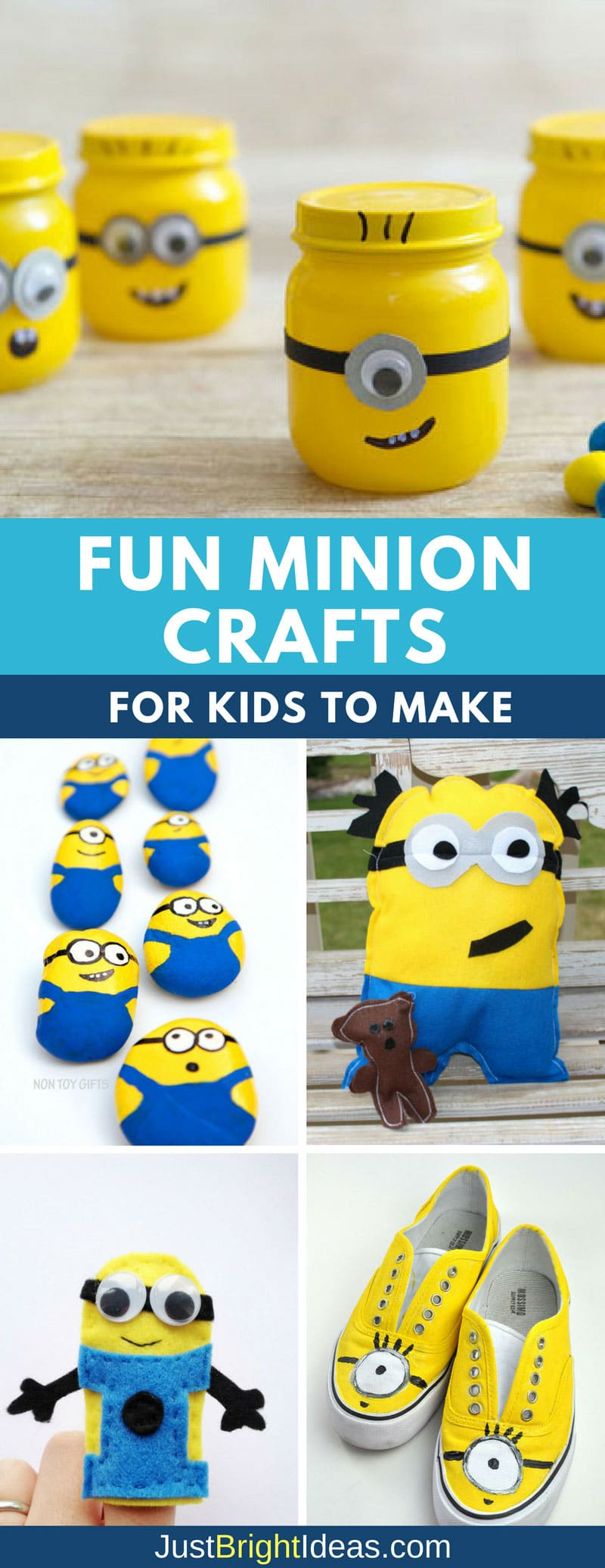 fun minion crafts for kids to make