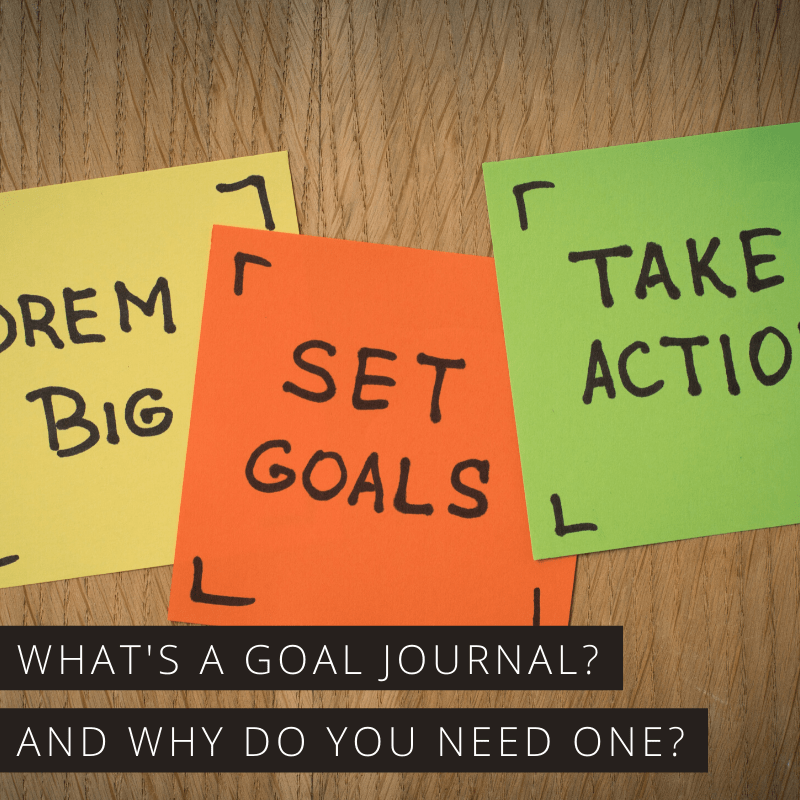 Find out how keeping a goal journal can help you be more successful