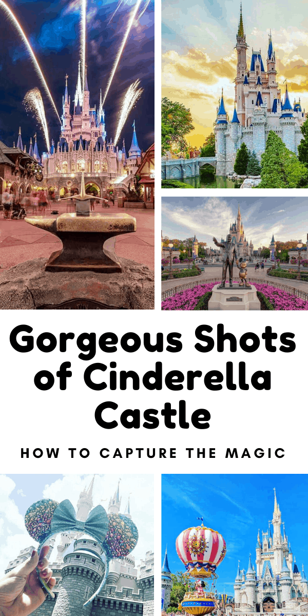Check out these gorgeous shots of Cinderella Castle to inspire you to take your own on vacation #disney #disneyworld #cinderellacastle