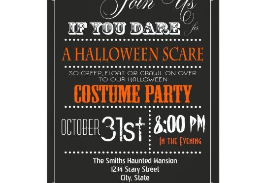 These custom Halloween invites are perfect for making your party stand out from the crowd!