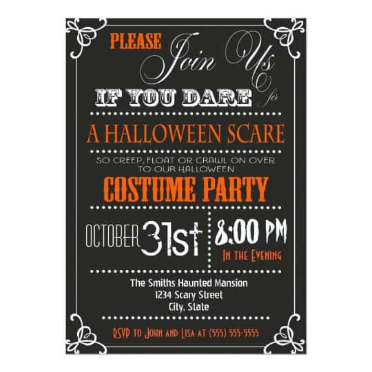 You can buy the Halloween Scare Party Invitation here