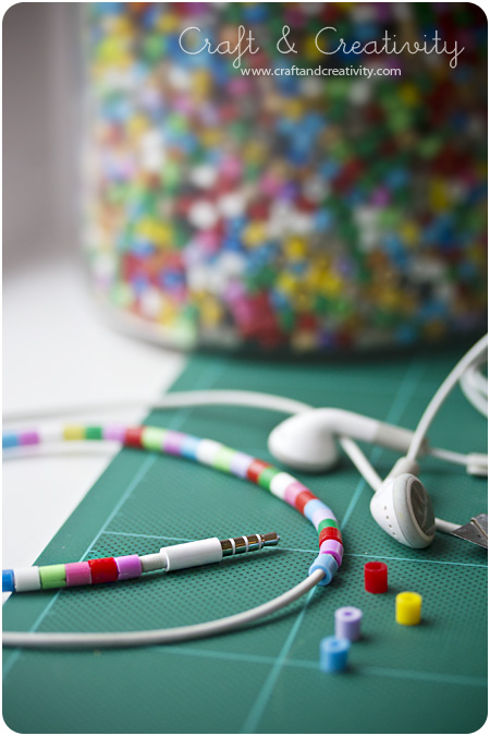 Beaded Earphone cords