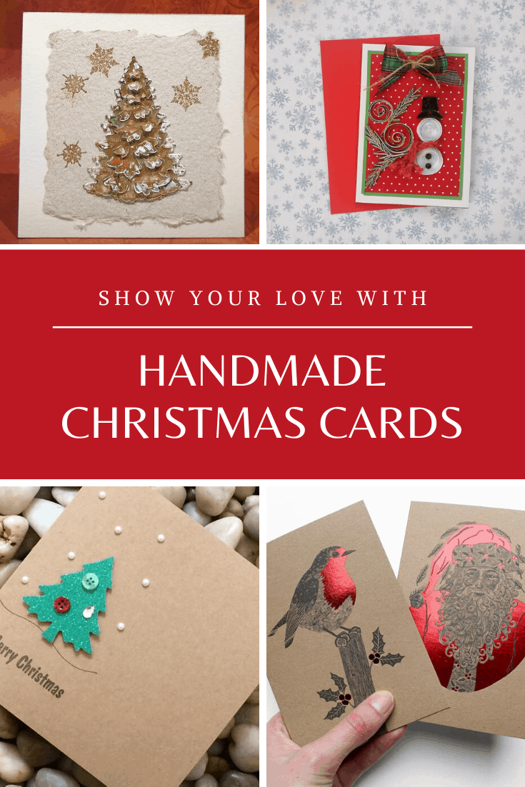 These gorgeous handmade Christmas cards are sure to be well received by your friends and family this Holiday season.