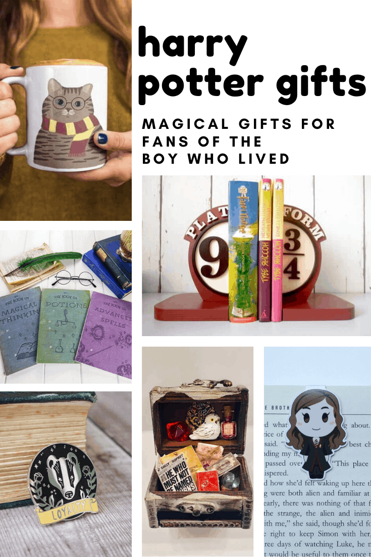 Oh my goodness these Harry Potter gift ideas are MAGICAL!