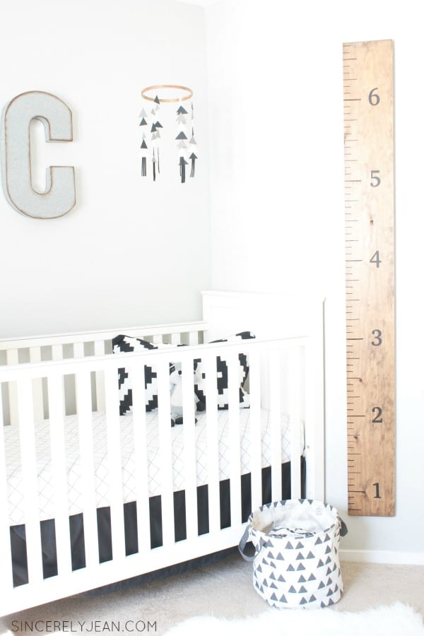 DIY Wooden Height Ruler