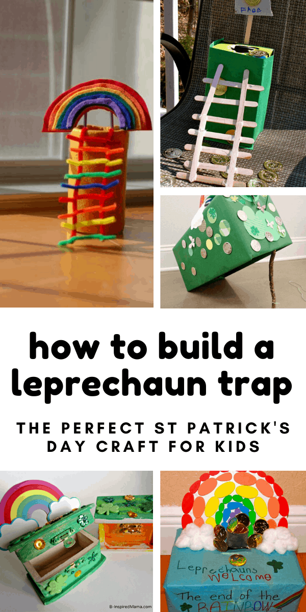 If your kids want to know how to build a leprechaun trap for St Patrick's Day we have got you covered with these fun STEM activities. Click through to see all of the ideas. #stpatricksday #stem #craftsforkids