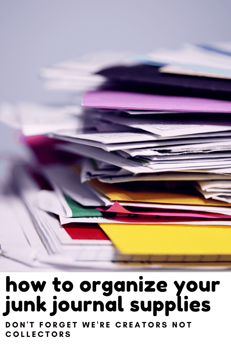 Rescuing papers and other bits of junk from the recycling can be fun - but we need to remember we're creators not collectors! Check out this easy tip to keep all of your stash organized!