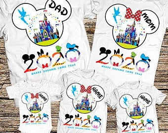 Family Disney World Shirts