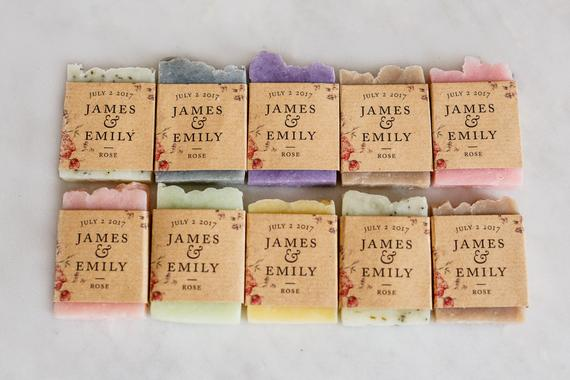 Luxury Soap Favors
