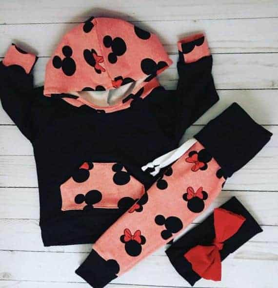 Mickey and Minnie Outfit