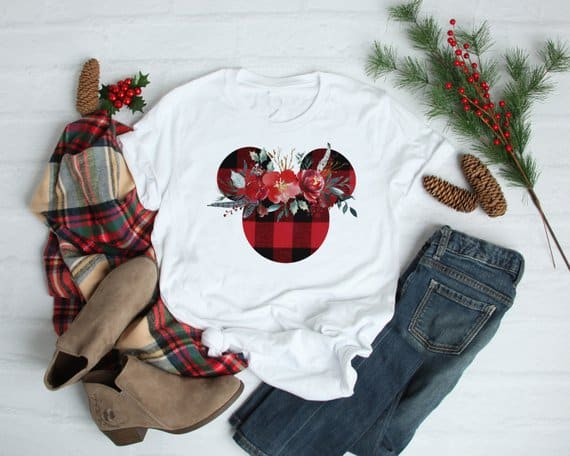 Disney Buffalo Plaid Shirt