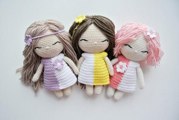 Di Crochet Doll Pattern