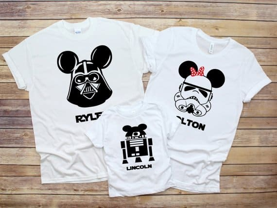 Disney Family Star Wars Shirt