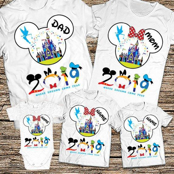 Family Disney World Shirts 2019