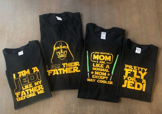 Disney Star Wars Pun Shirts