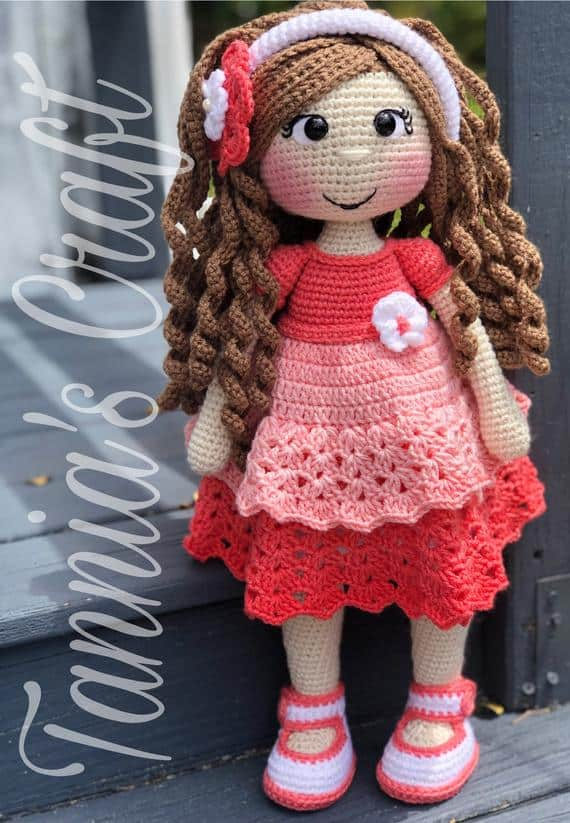 Crochet Sarahi Doll Pattern