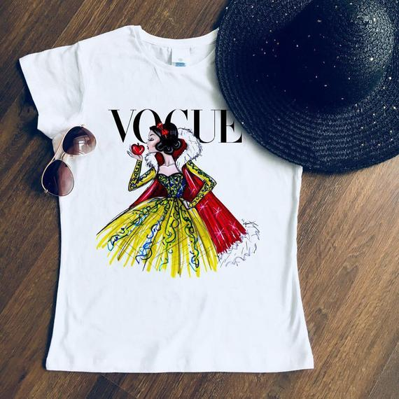 Snow White Vogue Shirt