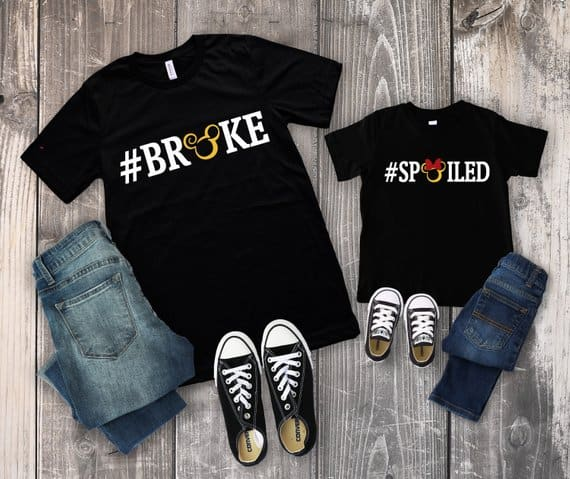 Disney Broke Spoiled Shirt