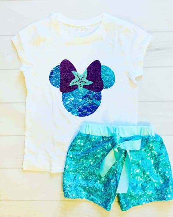 Minnie Mouse Mermaid