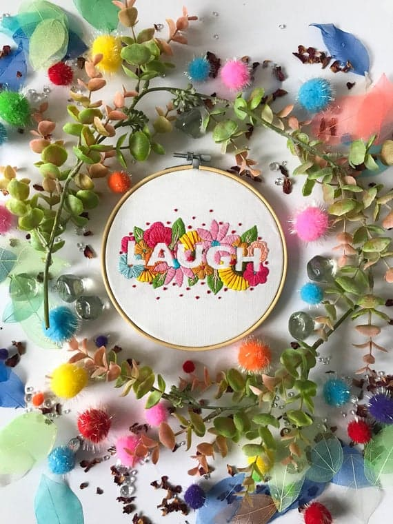 Remind yourself to laugh