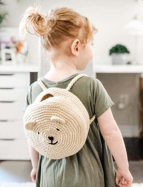 The Bear Cub Backpack PATTERN
