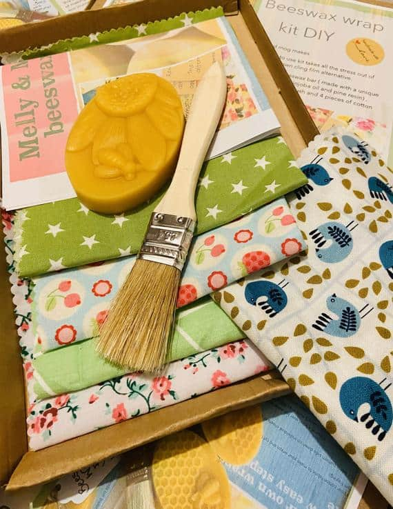 Make your own beeswax wrap