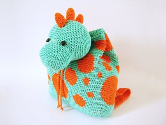 Dinosaur Backpack Pattern
