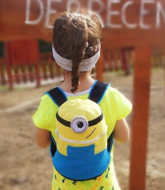 Crochet Minion Backpack Pattern